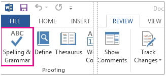 Enable Spell Check for Specific Document