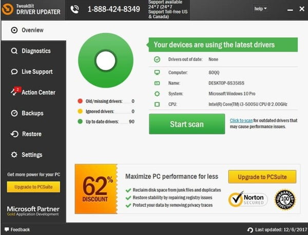 problematic drivers on your PC.