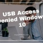 USB Access Denied Windows 10