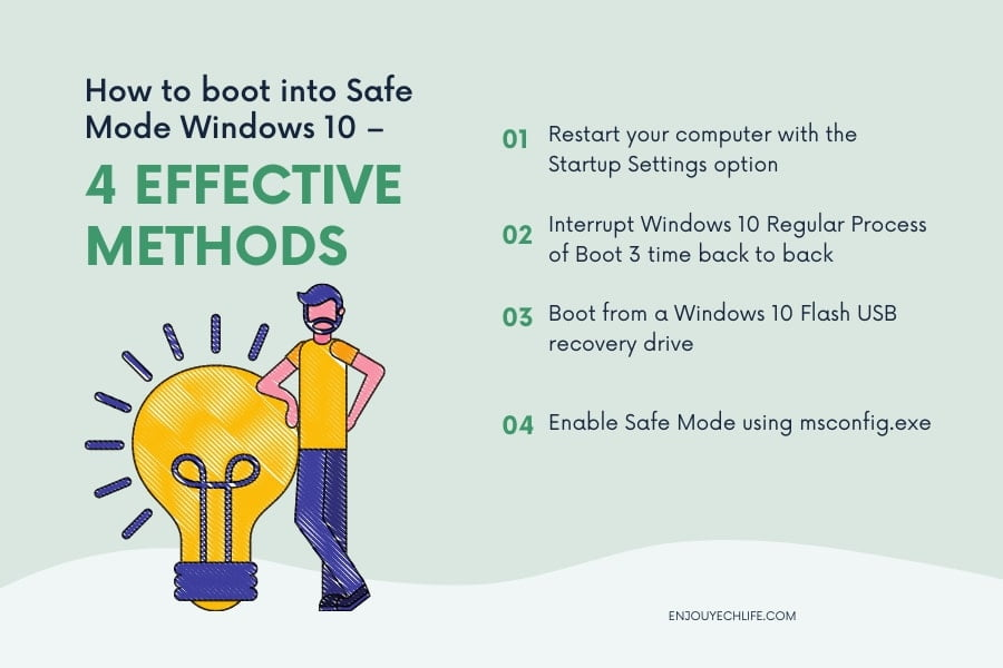 How to boot into Safe Mode Windows 10 – 4 Effective Methods