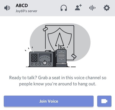 Join voice