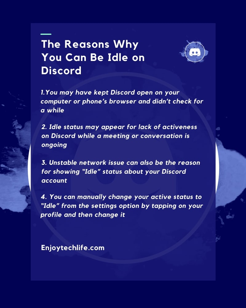 The Reasons Why You Can Be Idle on Discord