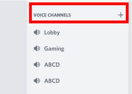 voice channel