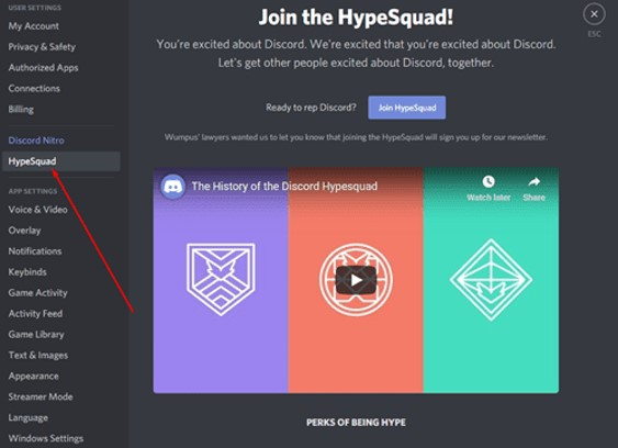 Hype Squad Houses