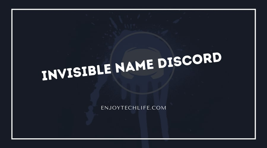 Invisible Name Discord