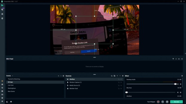 stream Oculus Quest to PC with sound!
