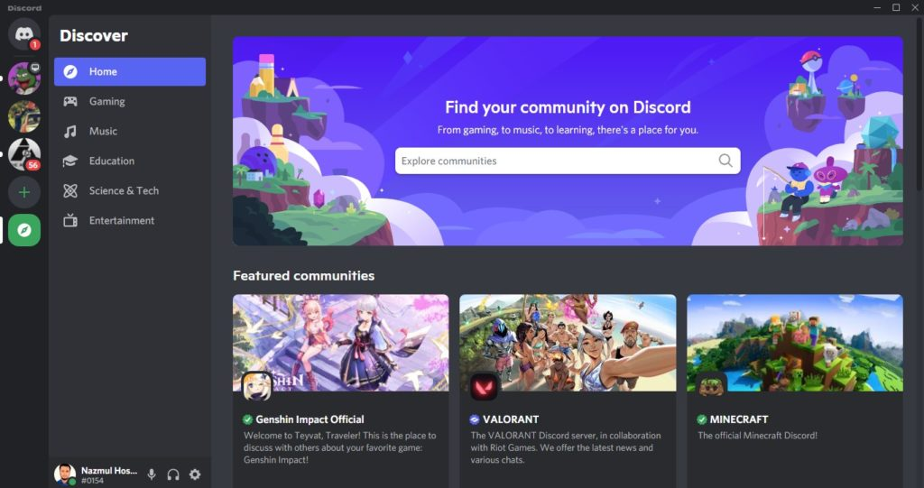 Discord's official directory