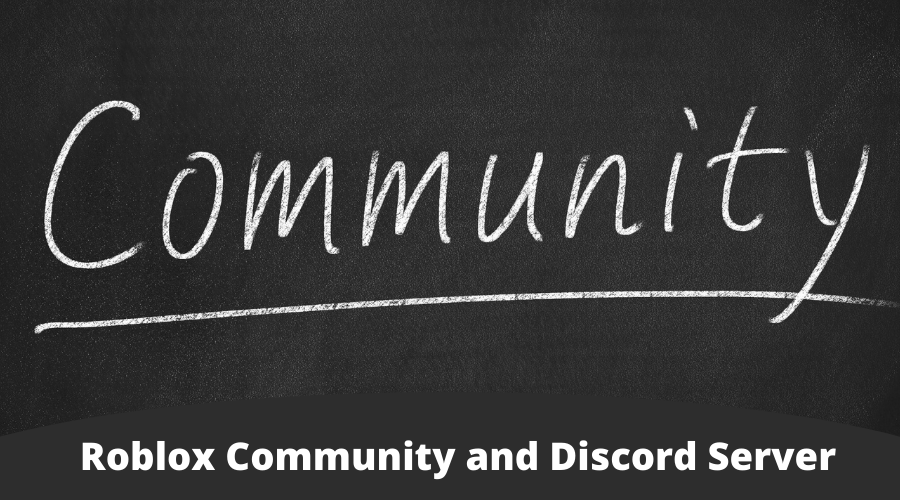 Roblox Community and Discord Server